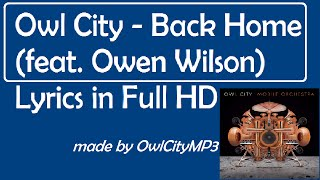 Owl City Back Home feat Jake Owen Lyrics Full HD