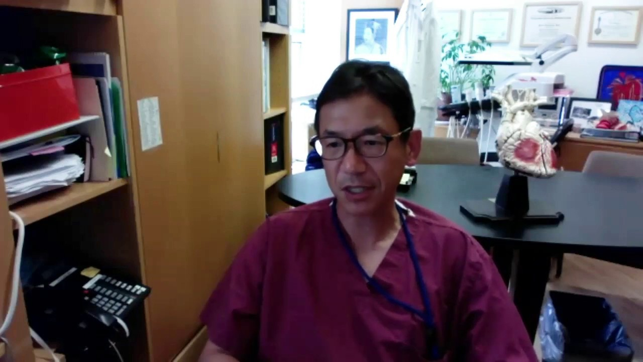 Dr. Takayama discusses study findings on possible contraction of Covid-19 in the hospital