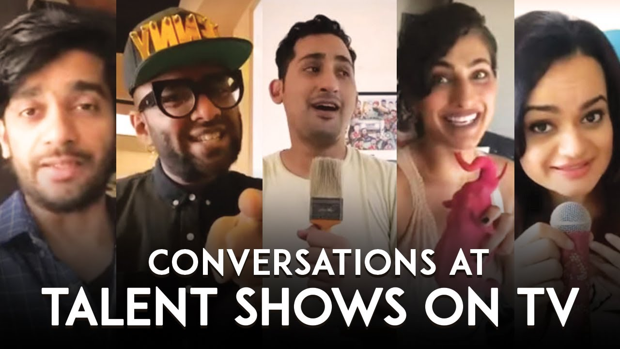 Conversations At Talent Shows On TV 📺 Ft. Kubbra Sait | Benny Dayal | Danish Sait
