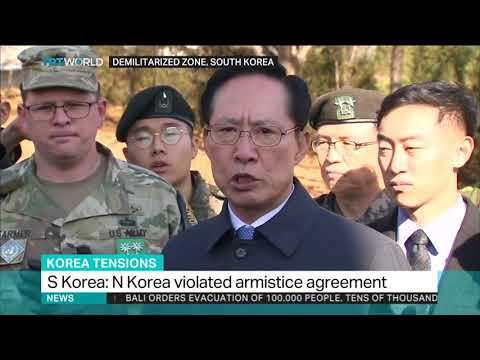 South Korea warns North not to repeat armistice violation