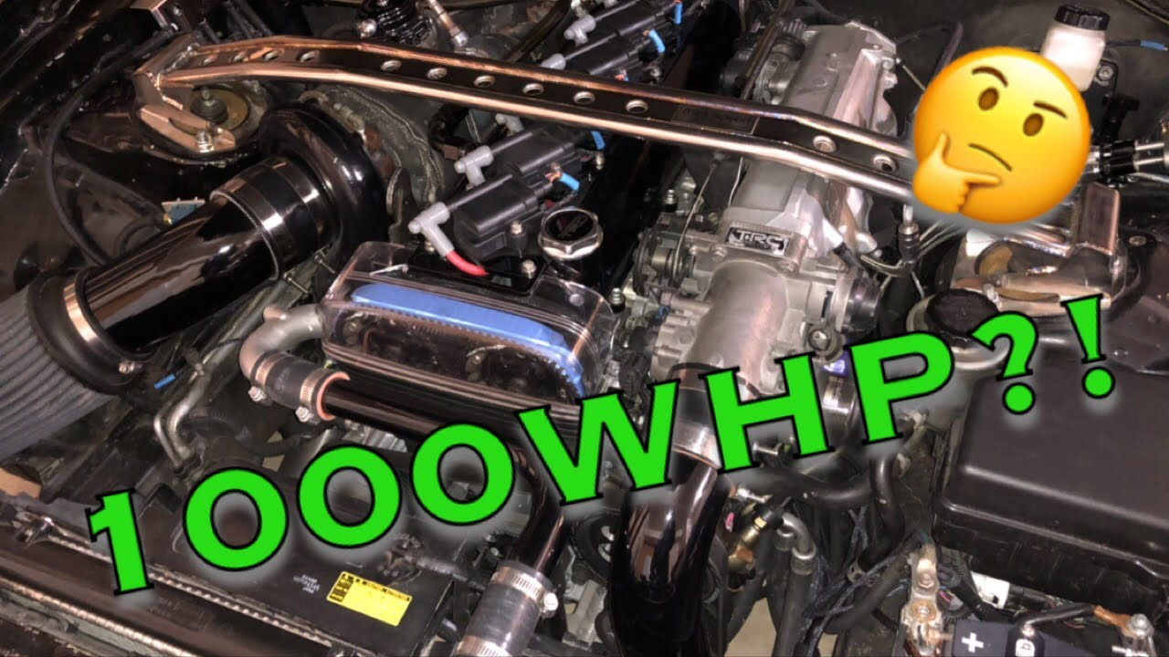 How much does a DIY 1000hp Supra really cost?