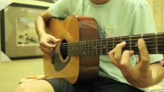If I Let You Go (Westlife) - Guitar solo