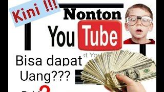 Cara mendapatkan uang jutaan diyoutube hanya dengan menonton video. Wow!!!