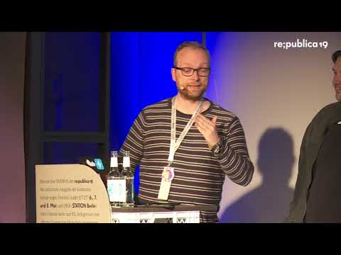Re:publica 2019 – 20 Jahre Open Source - Ein Rückblick