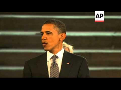 President Obama addresses British parliamentarians