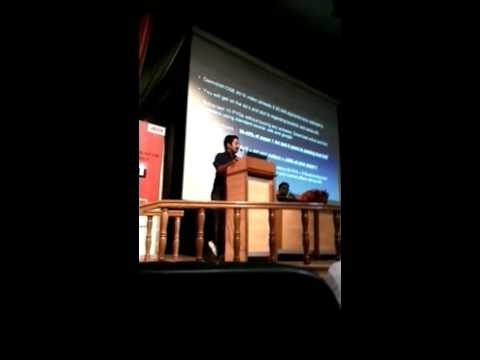 Dr.Roman saini's session on changes of strategy with varying pattern in upsc at Delhi-part1