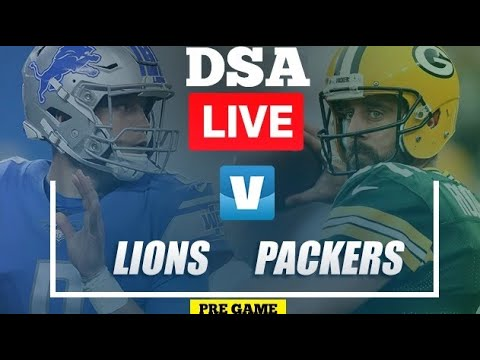 Detroit Lions Vs, Green-bay Packers Pre-game Show Live