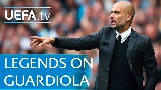 Guardiola - Cruyff, Xavi, Puyol and more on Barcelona legend