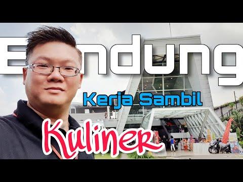 Kerja Sambil Kulineran Di Bandung - 4K Video