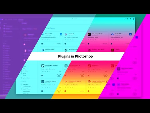 How to Navigate Plugins in Photoshop - #PHOMO