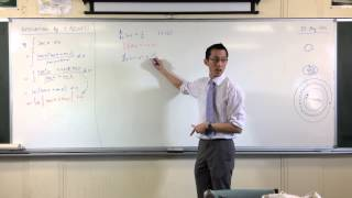 Why do logarithmic functions have absolute value signs after integration?