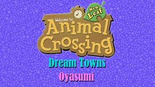 Animal Crossing Dream Towns: Oyasumi