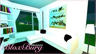 Roblox: BloxBurg | Wohnzimmer | Weiß und schwarz |