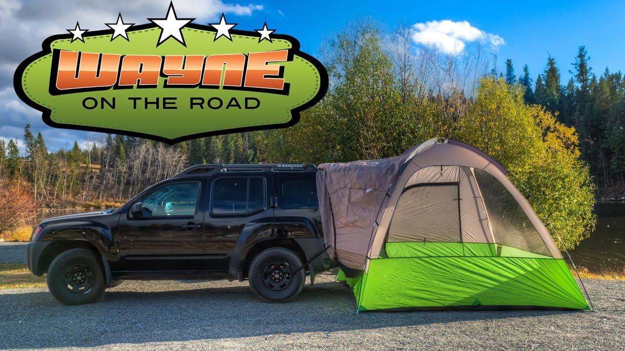 Napier Backroadz SUV Tent Review & Napier Backroadz SUV Tent Review - YouTube