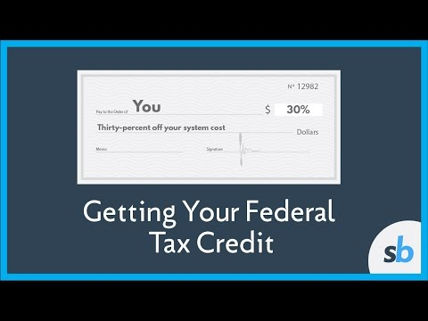 How Do Get The Federal Tax Credit For Solar