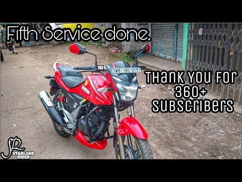5th Service Done | Hero | Xtreme Sports | THank You for 360+ Subs ||SR||