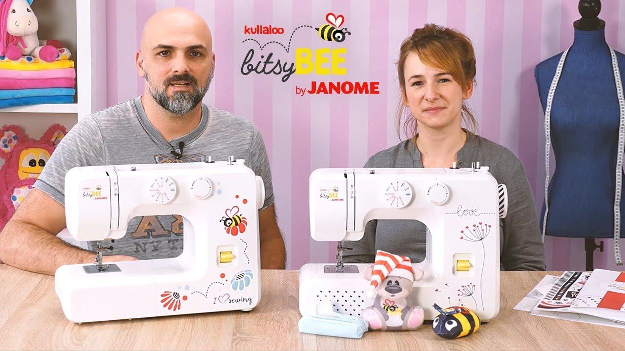 Kullaloo bitsy Bee by JANOME