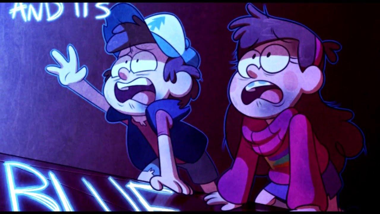 Gravity Falls Colors