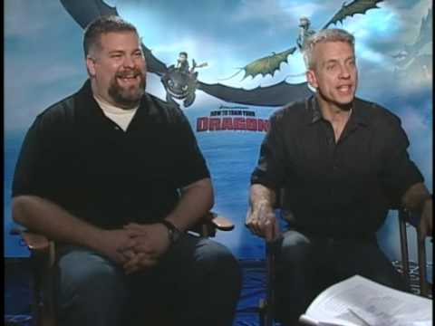 """How to Train Your Dragon"" Interviews with Writers/Director Dean DeBlois & Chris Sanders"