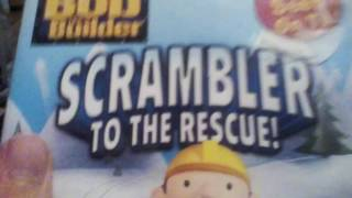 My Bob the builder DVD collection