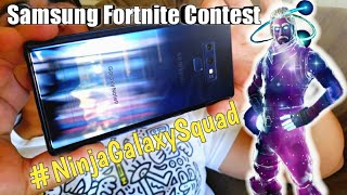 Samsung Galaxy Skin Fortnite Contest Entry Video!