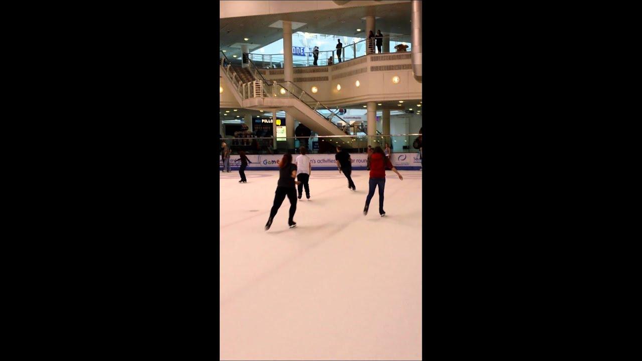 EK Ice Skating Jim Through Stephs Legs !!!!!!! - YouTube