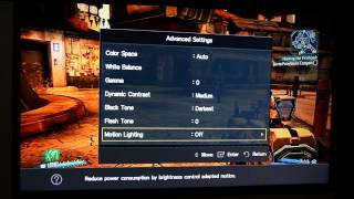 Samsung 39UE5003 HDTV Picture Settings