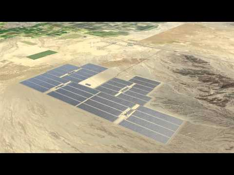 Blythe Solar Facility Visual Simulation