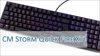 CM Storm Quick Fire XTi LED Effects