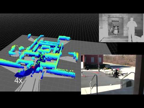 Autonomous Aerial Navigation in Confined Indoor Environments