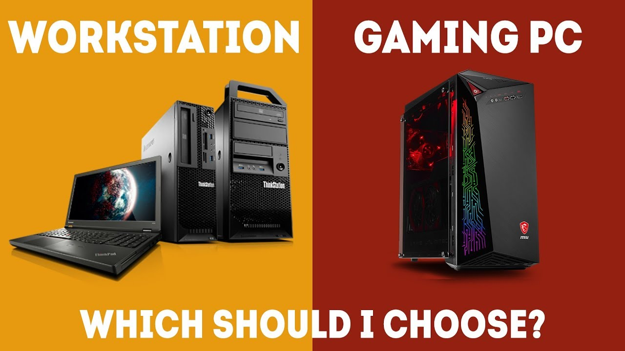 Workstation vs Gaming PC - Which Should I Choose? [Simple