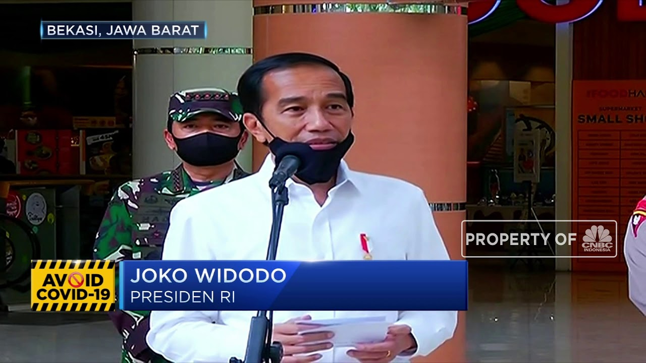 Jokowi: Indonesia Tetap Produktif tapi Bebas Virus
