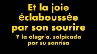 Edith Piaf  -  La Foule (subtitulos en francés y en español)