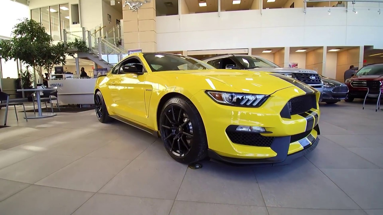 2017 ford shelby gt350 mustang triple yellow tricoat edmonton ab