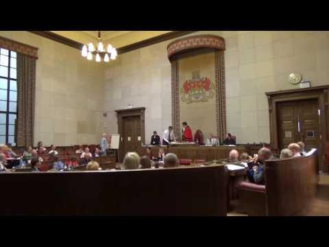 Cambridge City Council meeting -  July, 2017