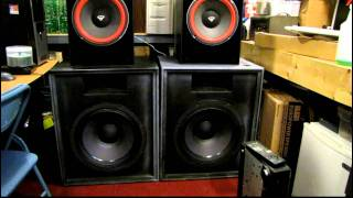 Low Volume Test:  Bass I Love You on the EAW subs