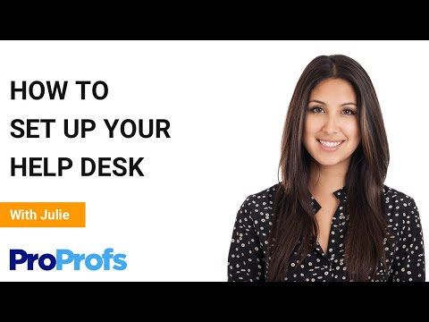 How to Set up Your Help Desk in Under 5 Minutes