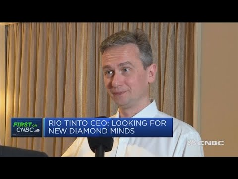 Rio Tinto CEO: High expectations that 2018 tender will be successful | Capital Connection