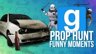 Small Map, Even Smaller Brain - GMOD PROP HUNT FUNNY MOMENTS