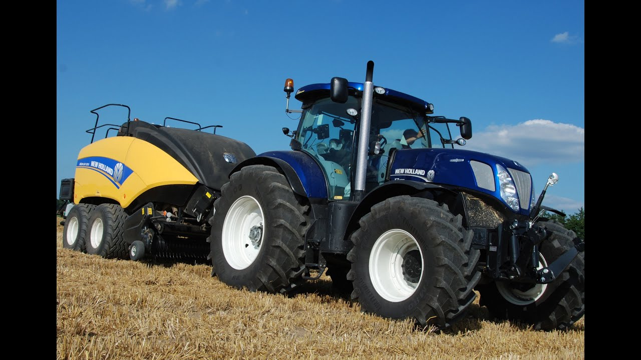 New Holland Bigbaler T7 270 Blue Power In Action