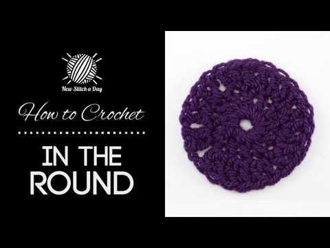 How to crochet in the round youtube how to crochet in the round ccuart Gallery