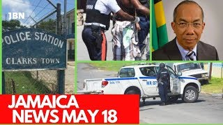 JAMAICA News May 18 2019/JBN| Sh00ting|R0gue C0ps| Drvg Bust|Firearm Seized|  R0bbery| TVJ/CVM News