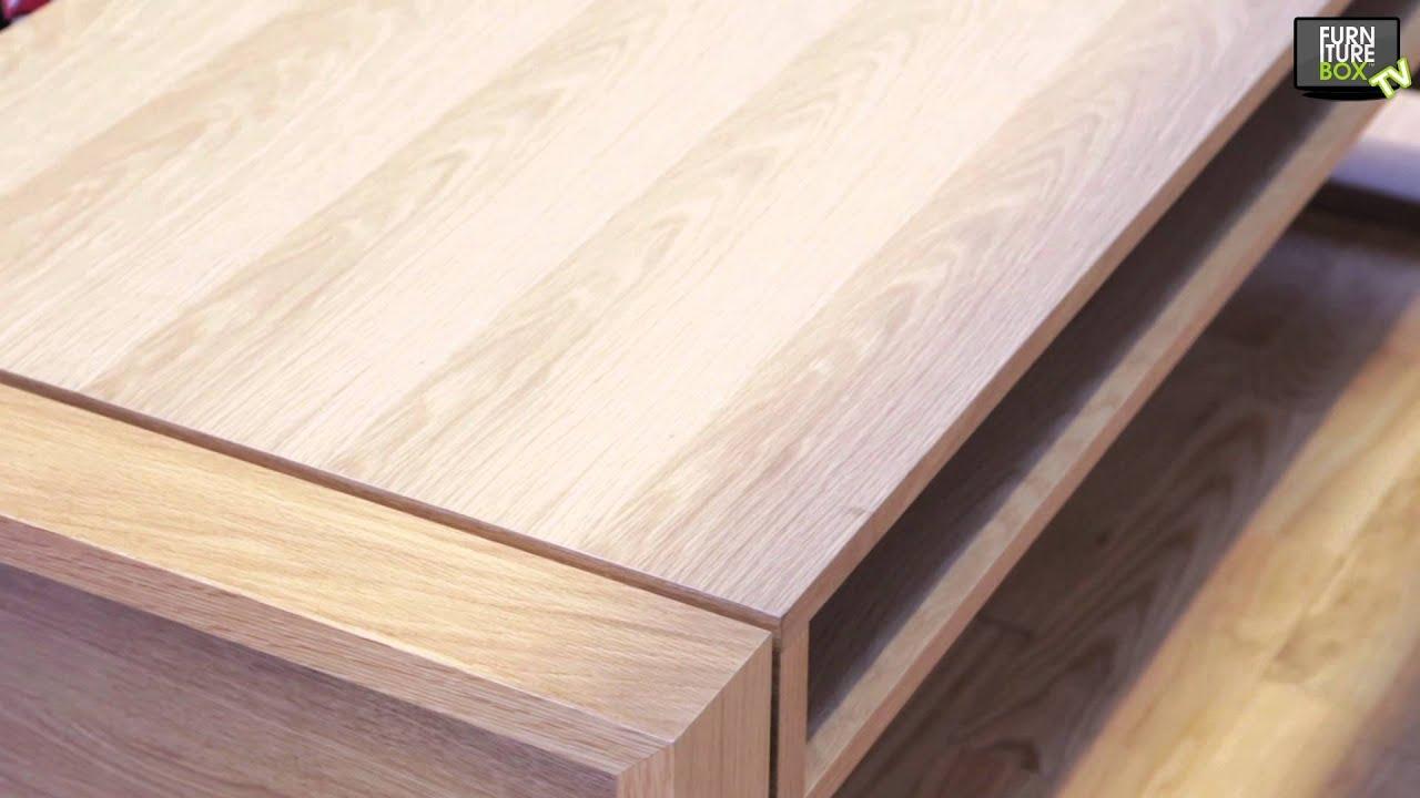 BRIDGE Soffbord 140 Ek Furniturebox YouTube