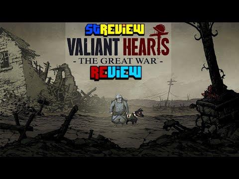 לבבות אמיצים: המלחמה הגדולה - ביקורת - Valiant Hearts: The Great War - Review - Hebrew