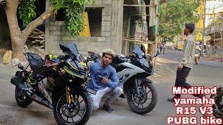 Yamaha R15 V3 Modification | PUBG BIKE | Devil