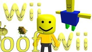 wii theme song but it's the roblox death sound-Wii OOF