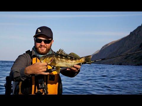 Kayak calico bass fishing on the islander youtube for Calico bass fishing