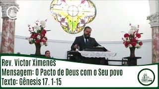 O pacto de Deus com o seu povo | Rev. Victor Ximenes | IPBV