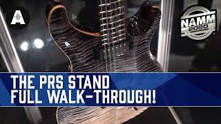The PRS Stand - Full Walk-Through! - NAMM 2020