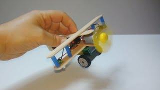Dc Motor ile Evde Basit Uçak N…